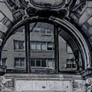 Historical Window Detail Art Print