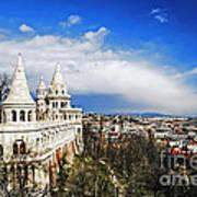 History Of Budapest Art Print