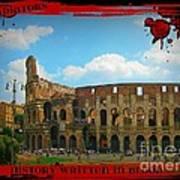 History Of The Gladiators Art Print