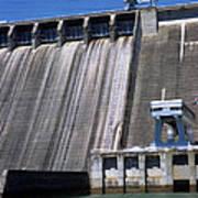Hiwassee Dam 3 Art Print