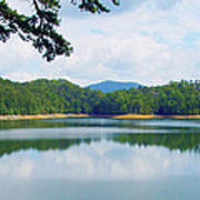 Hiwassee Lake Art Print by Robert J Andler