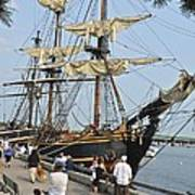 Hms Bounty Newburyport Art Print