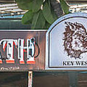 Hog's Breath Saloon 1 Key West - Hdr Style Art Print