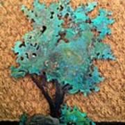 Hokkidachi Copper Bonsai Art Print