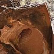 Hole-in-one Rock Art Print