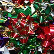 Holiday Bows Art Print