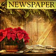 Holiday News Art Print