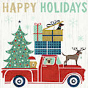 Holiday On Wheels IIi Art Print