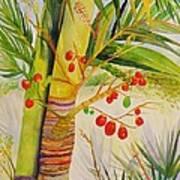 Holiday Palm Art Print