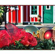 Holiday Reflections Art Print