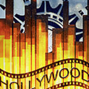 Hollywood Gold Art Print