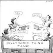 Hollywood Think Tank Art Print