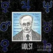Holst Art Print