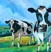 Holstein Amoogos Art Print