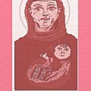 Holy Anthony Of Padua Art Print