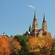 Holy Hill In Living Color Art Print