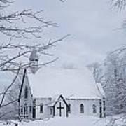 Holy Trinity Anglican Church And Art Print