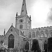 Holy Trinity Church Stratford Upon Avon Art Print