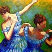 Homage To Degas Art Print