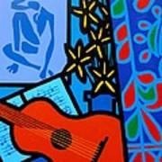 Homage To Matisse I  Art Print