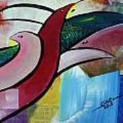 Home Birds Art Print