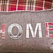 Home Cushion Art Print