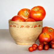 Home Grown Tomatoes II Art Print