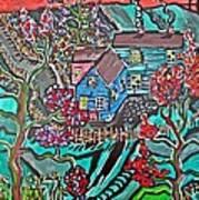 Home Art Print by Matthew  James