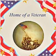 Home Of A Veteran Art Print