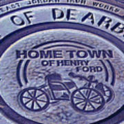Home Of Henry Ford Art Print