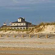 Home On The Beach Art Print