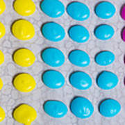 Homemade Candy Dots Art Print