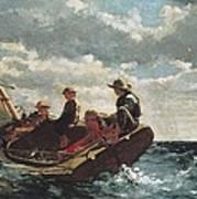 Homer, Winslow 1830-1910. Breezing Up A Art Print