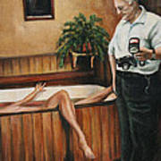 Homicide Photographer  Art Print