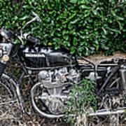 Honda 450 Motorcycle Art Print