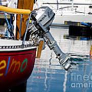 Honda Boat Engine Art Print