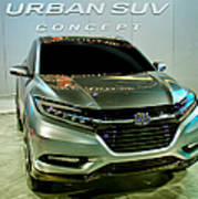 Honda Urban Suv Concept  2 Art Print