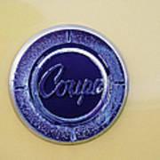 Honda Z600 Coupe Medallion Art Print