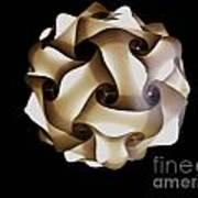 Honeycomb Hideout Art Print