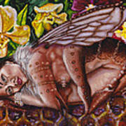 Honeymoon - Bhramari Devi Art Print