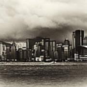 Hong Kong Bay Art Print