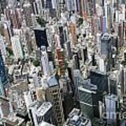 Hong Kong's Density Art Print by Lars Ruecker