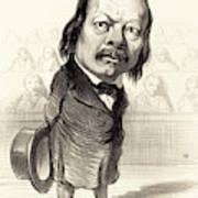 Honoré Daumier French, 1808 - 1879, Ferdinand Flocon Art Print