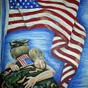 Honor Our Troops Art Print