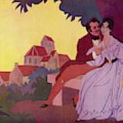 Honore De Balzac With His  Greatest Art Print