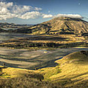 Hoopers Inlet And Cape Saunders New Art Print