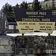 Hoosier Pass Art Print