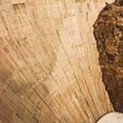 Hoover Dam 589ft Art Print