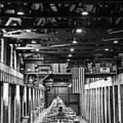 Hoover Dam Generators Art Print