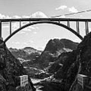 Hoover Dam Memorial Bridge Art Print